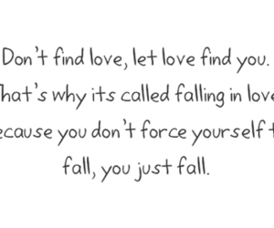 love, quote, and fall image