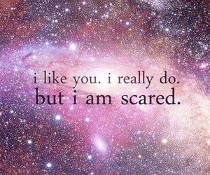 boy, Relationship, and scared image