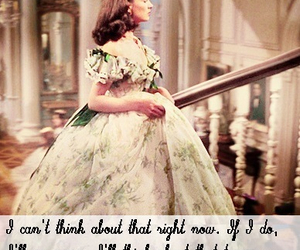 dress, Gone with the Wind, and Scarlett O'Hara image