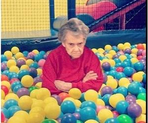 funny, grandma, and lol image