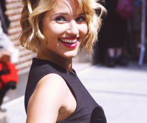 glee, dianna agron, and perfect image