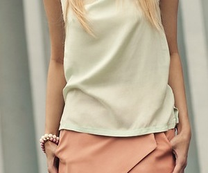 clothes, fashion, and pale pink image