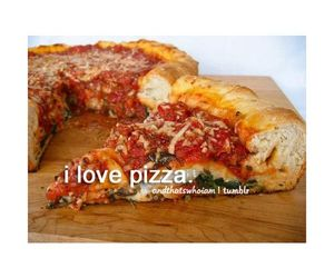 food, i, and pizza image