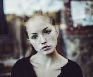 freckles, eyes, and girl image