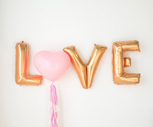 love, pink, and cute image