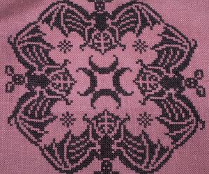 bats, bordado, and embroidery image