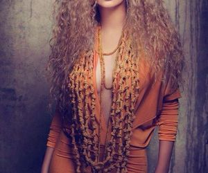 arabic, beautiful, and curly hair image
