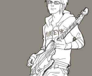 art, mikey way, and my chemical romance image