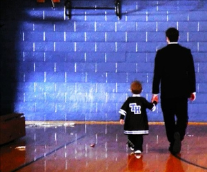 father and son, ravens, and one tree hill image