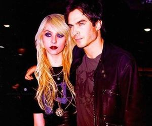 ian somerhalder and Taylor Momsen image