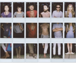 people, polaroid, and photography image
