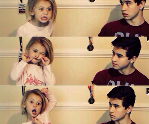 boy, nash grier, and girl image