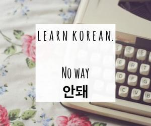 asia, hangeul, and learn korean image