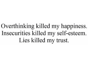lies, overthinking, and quotes image