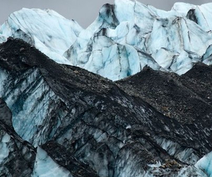 mountains, nature, and ice image