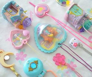 kawaii, sailor moon, and toys image