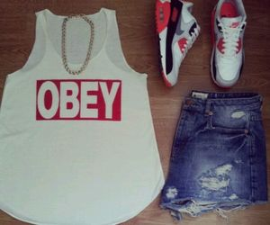 obey and fashion image
