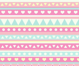 background, pastel colors, and tribal image