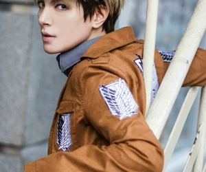 cosplay, attack on titan, and jean kirschtein image