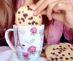Cookies, cookie, and chocolate image