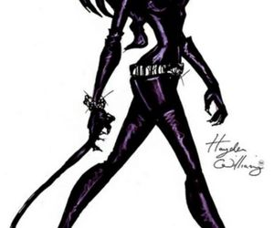 catwoman, hayden williams, and drawing image