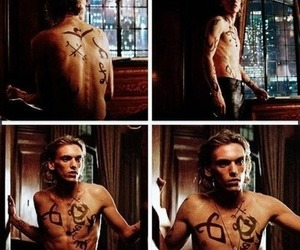 jamie, jace lightwood, and jamie campbell bower gifs image