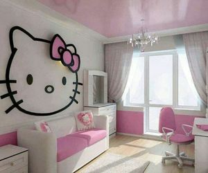 bedroom, kitty, and lovely image
