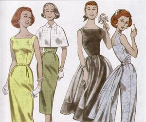 fashion, housewife, and old image