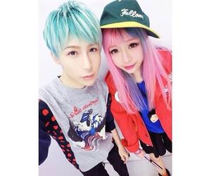 boy, girl, and japan image