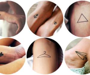 tattoo, hanger, and anchor image