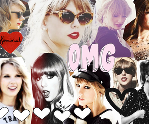 Collage and Taylor Swift image