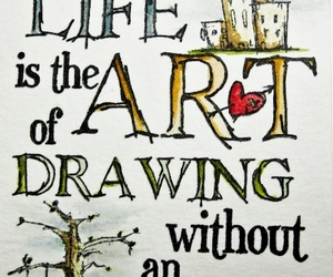 art, life, and quotes image