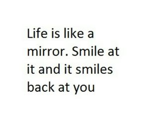 life, smile, and quote image