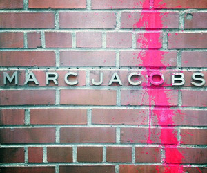 marc jacobs, pink, and wall image
