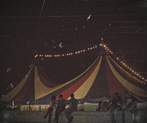 circus, lights, and photography image