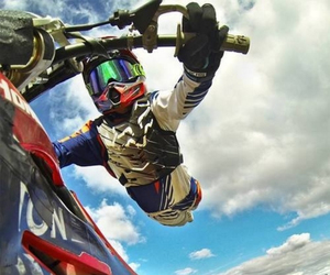 motocross, oakley, and gopro image
