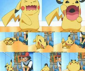 kawaii, pikachu, and pokemon image