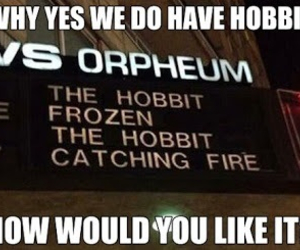 fandom, frozen, and hobbit image