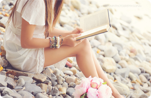 book, romantic, and roses image