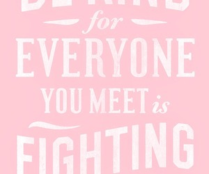 quote, pink, and battle image