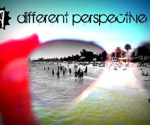 beach, different, and glasses image