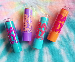 lips, baby lips, and color image