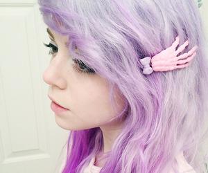hair, kawaii, and pastel image