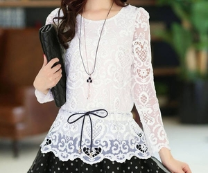 blouse, fashion, and hot sale image