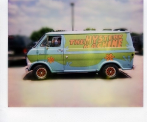 awesome, mystery machine, and scooby doo image