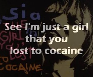 cocain, girl, and song image
