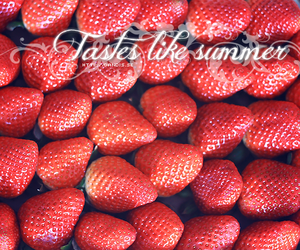 berries, red, and strawberries image