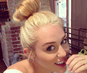 blonde, miley cyrus, and pretty image