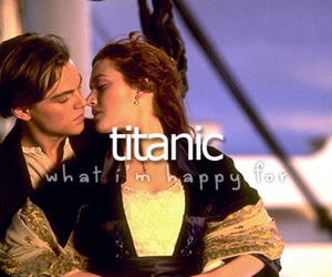 happy, movie, and titanic image