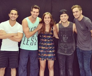 meet and greet, big time rush, and world tour image